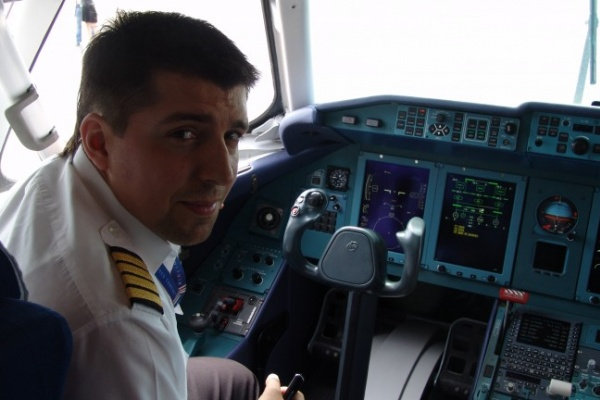 Ан-148 благополучно доставил воронежцев в Петербург