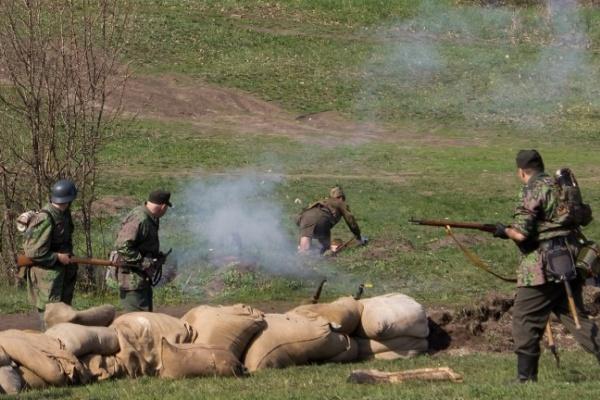 В Воронеже у «Музея-диорамы» во вторник развернутся исторические бои