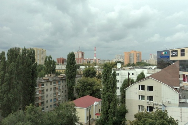 Теплая погода пришла в Воронеж надолго