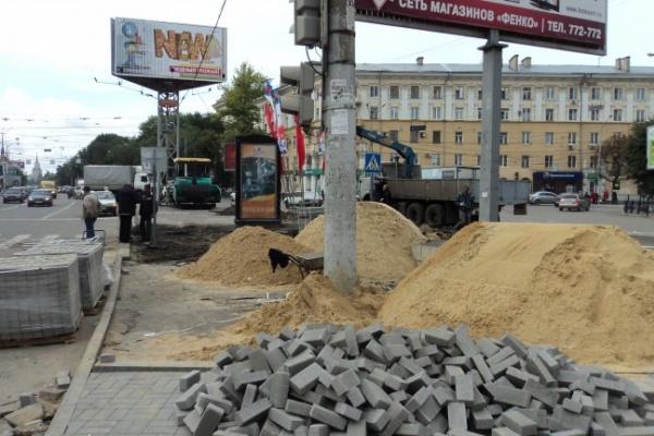 В ТЕМУ НЕДЕЛИ: Мэр Воронежа не выполнил обещание — Кольцовский бульвар к сроку не готов