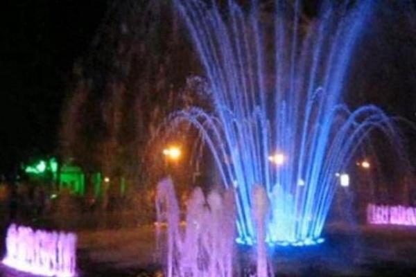 Фонтан в Кольцовском сквере Воронежа будет танцевать каждый вечер