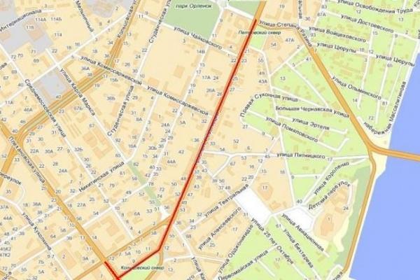 На День города в Воронеже перекроют площадь Ленина, проспект Революции, Плехановскую и Кирова