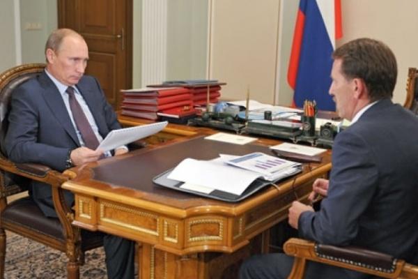 Губернатор Воронежской области поблагодарил Владимира Путина за деньги и за Козака к юбилею