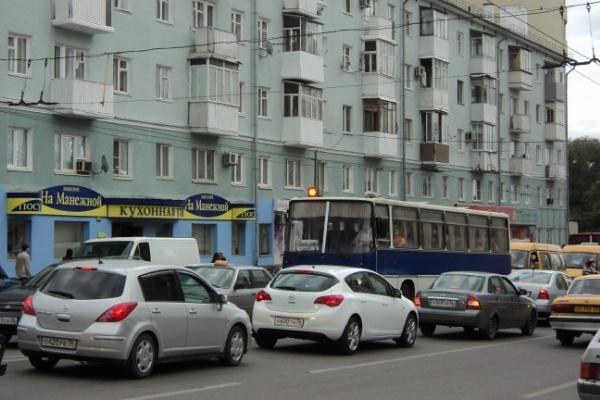 Воронежцы проигнорировали «День без автомобиля»