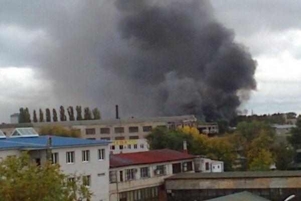 Ущерб от пожара на станкостроительном заводе Воронежа составил десятки миллионов рублей
