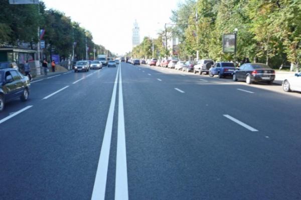 Дорожники рапортуют — в центре отремонтированы все улицы, кроме одной