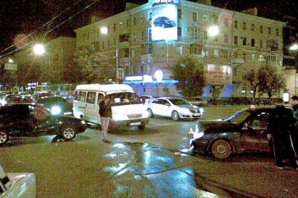 В Воронеже за три дня произошло 299 мелких ДТП