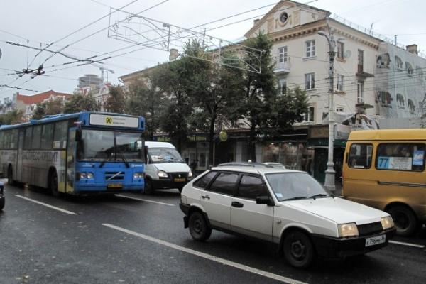 Госавтоинспекция устроила в Воронеже гонки по правилам