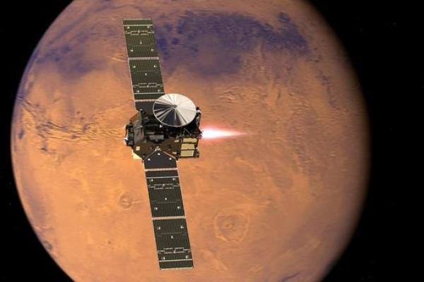 Межпланетный зонд с помощью воронежских двигателей достиг  Марса