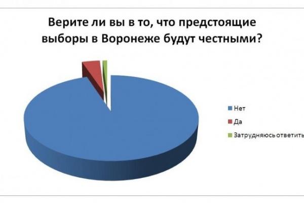 Читатели интернет-газеты «Время Воронежа» не верят в честные выборы