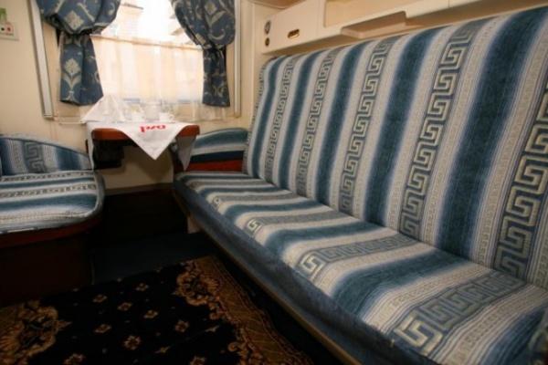 В поезде «Воронеж-Москва» появятся купе класса «люкс» с туалетом и душем