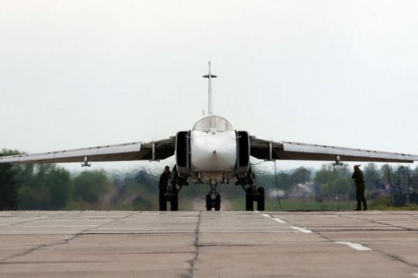 Вылетевший с воронежского «Балтимора» бомбардировщик Су-24 потерпел крушение в Амурской области