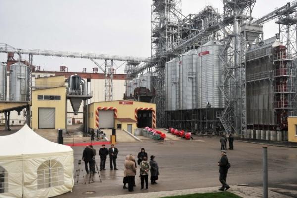 В Воронежской области запустили новый элеватор вместимостью 140 тысяч тонн зерна
