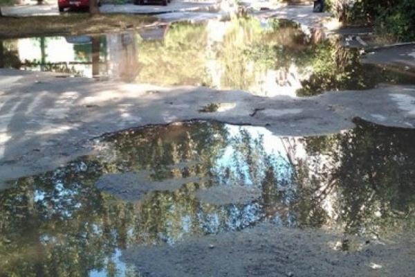 Порыв водовода в Северном микрорайоне локализован