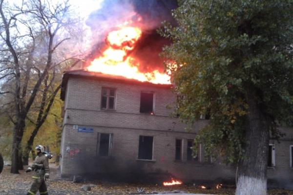 Дым от пожара в доме на Ленинградской был виден всему левому берегу Воронежа