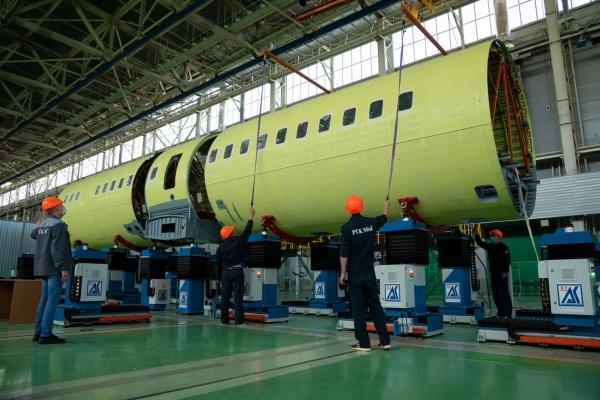 Ростех приступил к сборке Ил-114-300 с воронежскими комплектующими