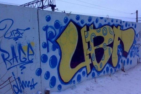 В Воронеже в этом году возбуждено уже 18 уголовных дел на граффитистов