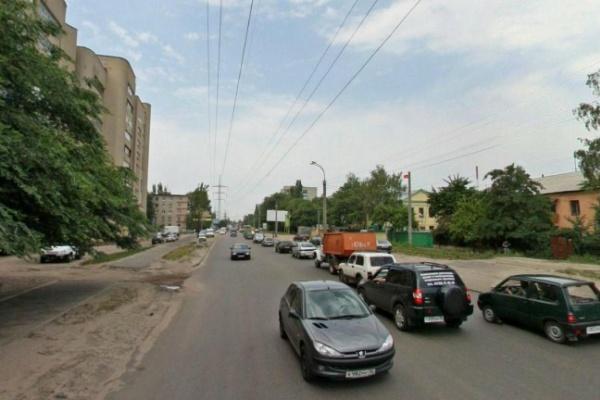 Движение на улице Матросова в Воронеже будет ограничено еще два дня