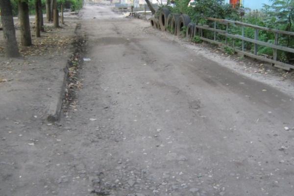 Перед холодами в Воронеже отремонтировать все дворы не успели