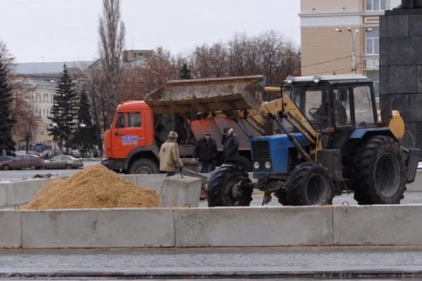 В Воронеже снова копают на площади Ленина
