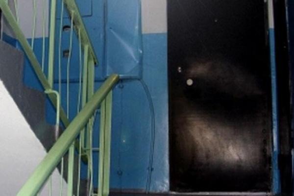 Злоумышленники подожгли мусор в воронежской многоэтажке