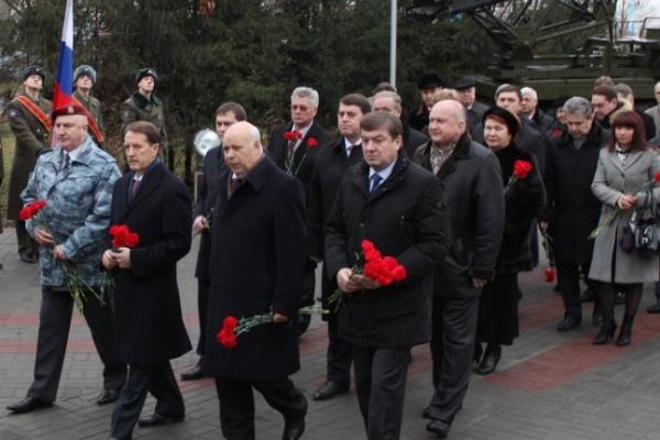 В Воронеже почтили память Героев Отечества