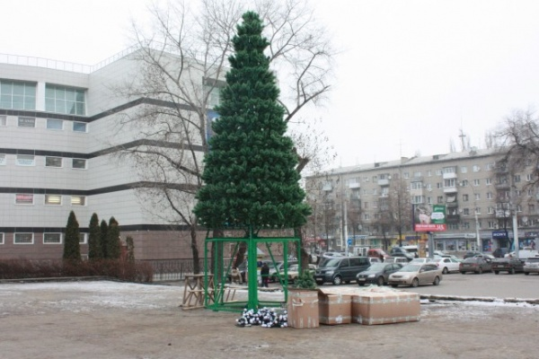 У Воронежского цирка впервые за 20 лет установят ёлку