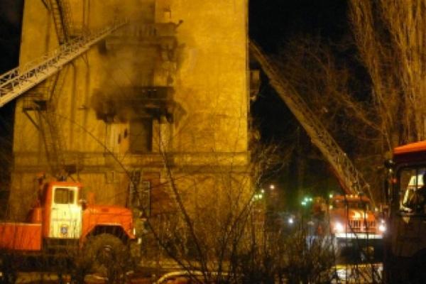 В Воронеже произошел пожар с эвакуацией