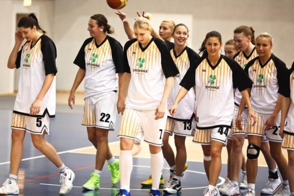 Воронежские баскетболистки поздравили с Новым годом и Рождеством православную команду