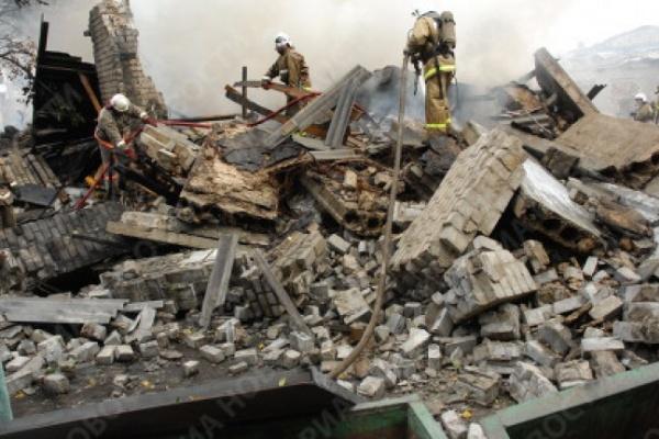В Воронеже нашли виновного во взрыве склада пиротехники