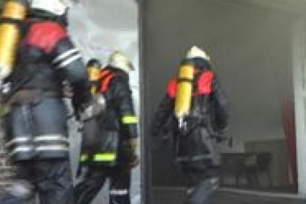 На пожаре в Воронеже спасли ребенка