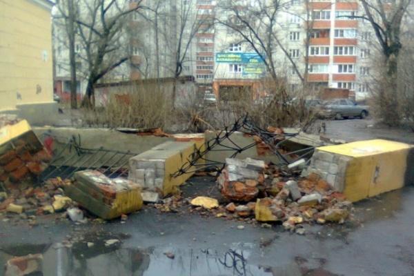 Вандалы в Воронеже
