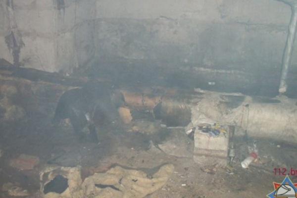 Подвалы в Воронеже пожароопасны