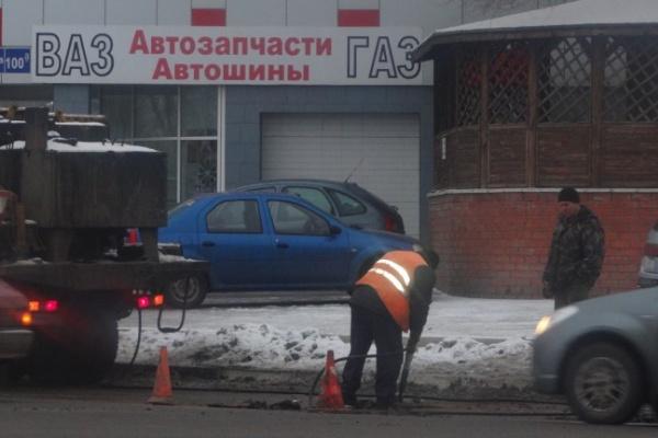 Воронежские дороги начали ремонтировать зимой