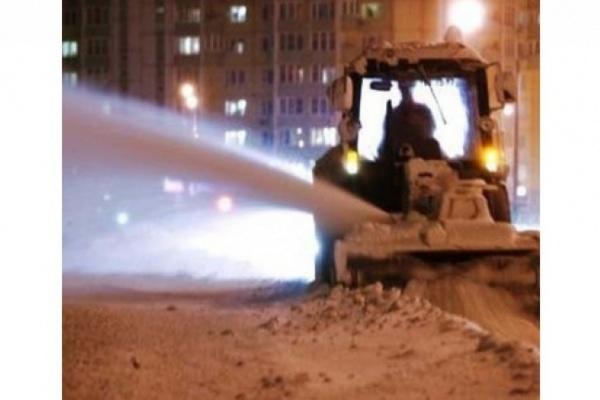 В Воронеж пришла зима со снегопадами