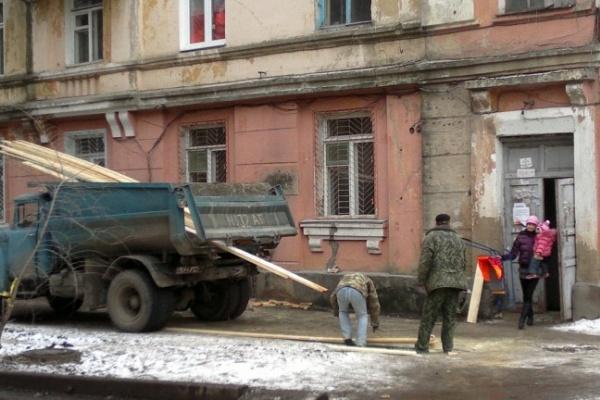 На восстановление сгоревшего дома в Воронеже потратят 30 миллионов рублей