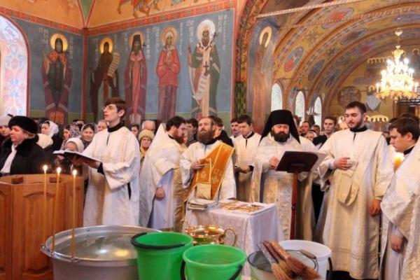 В Воронежской области в Крещенских богослужениях приняли участие более 45 тысяч человек
