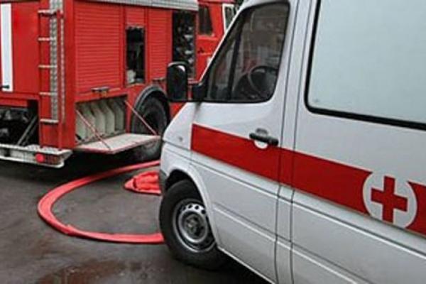 В Воронеже на территории нефтебазы горел остаточный газовый конденсат