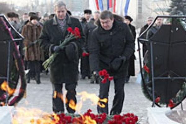 В Воронеже проходят мероприятия ко Дню освобождения города от фашистско-немецких захватчиков