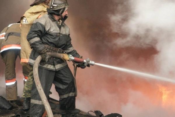 На пожаре в Воронежской области погиб 1 человек