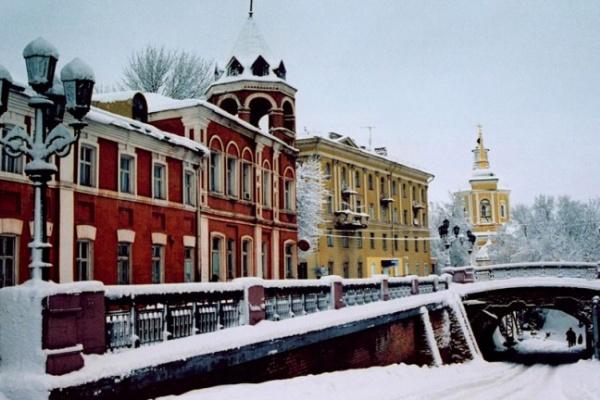 В Воронеже осуществляются зимние благоустроительные работы