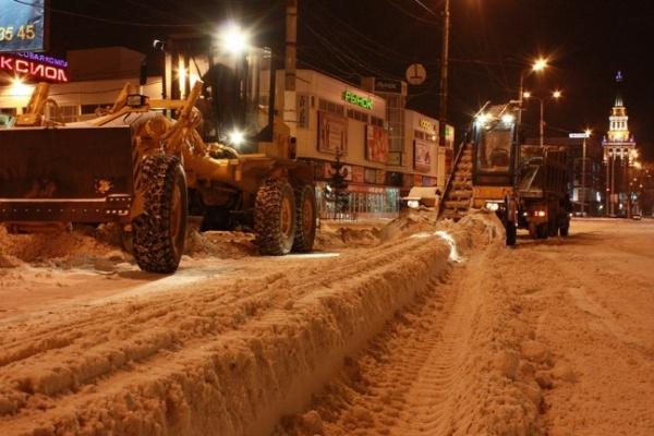 Воронежские власти на удивление оперативно справились с уборкой снега