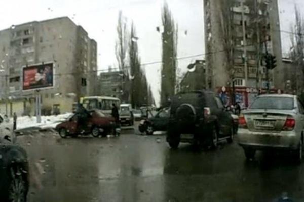 Дтп на Остужева закончилось погоней