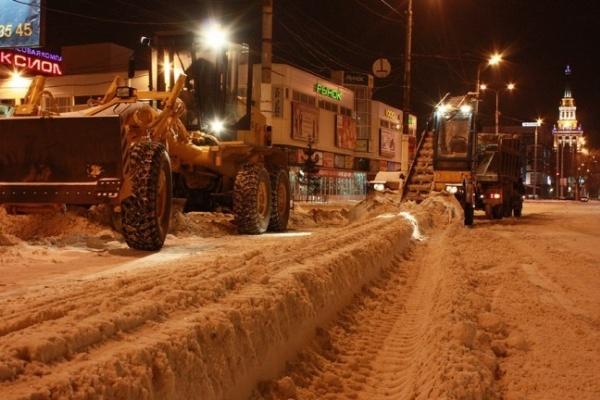 Воронежские власти справляются отвратительно с уборкой снега  - опрос