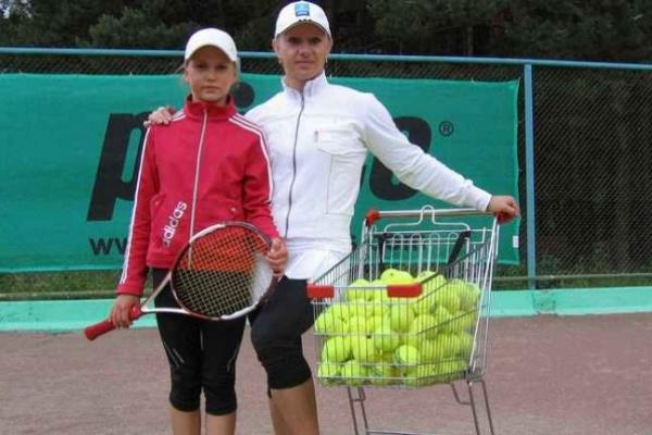 Олимпийская чемпионка из Воронежа растит из дочки звезду большого тенниса