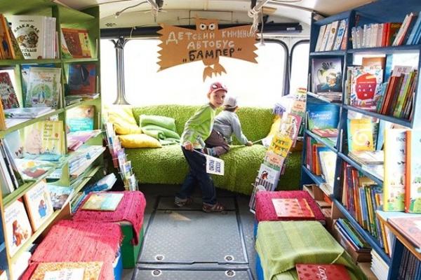 В Воронеж едет уникальный детский книжный автобус