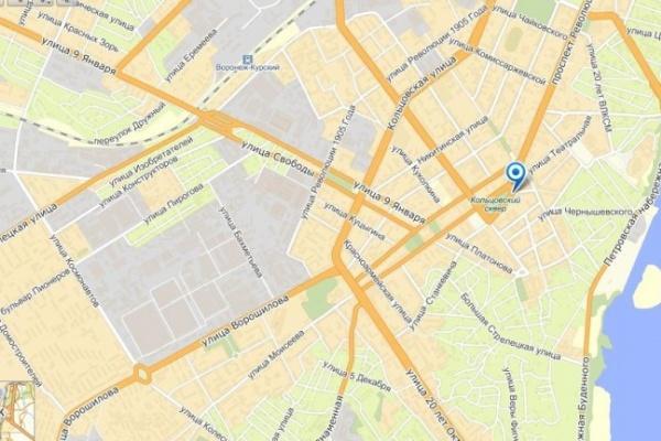 В Воронеже месяц ночью будут перекрывать центральные улицы