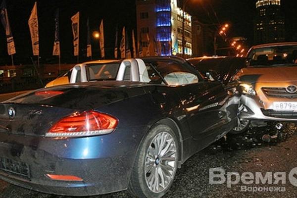 Воронежский священник на немецком спорткаре попал в ДТП