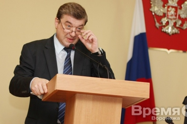 Мэр Воронежа получил медаль за вклад в развитие местного самоуправления