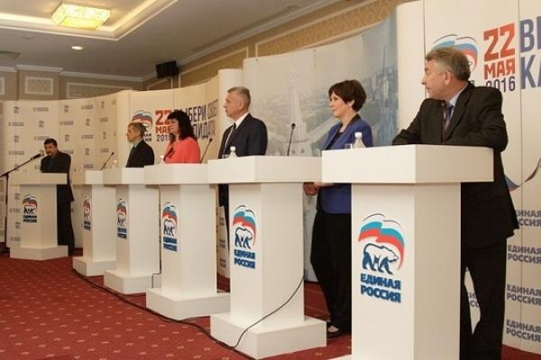 Апрельские дебаты в воронежском отделении «Единой России» с успехом завершились